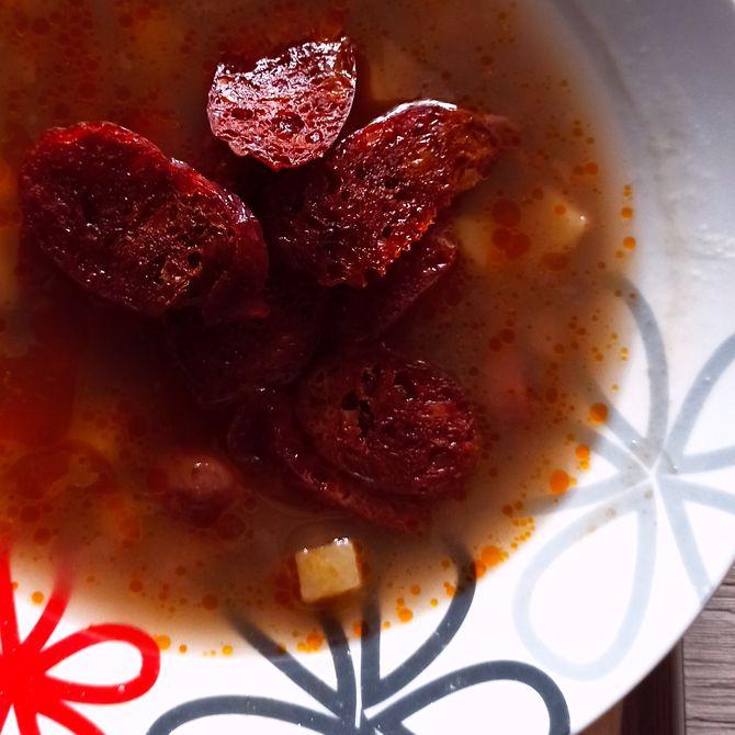 Náhľad receptu Výdatná fazuľová polievka