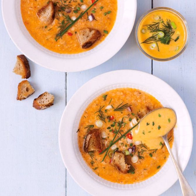 Náhľad receptu Rybacia polievka s omáčkou Rouille