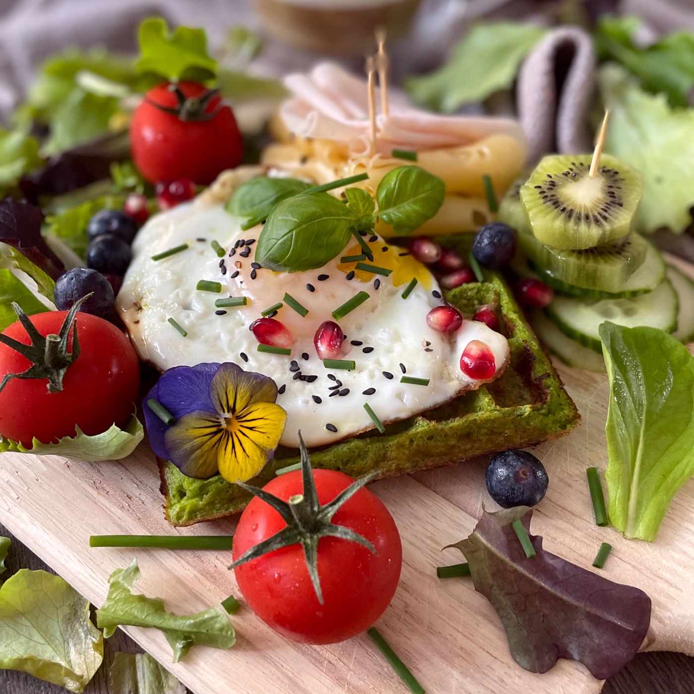 Zelené raňajky