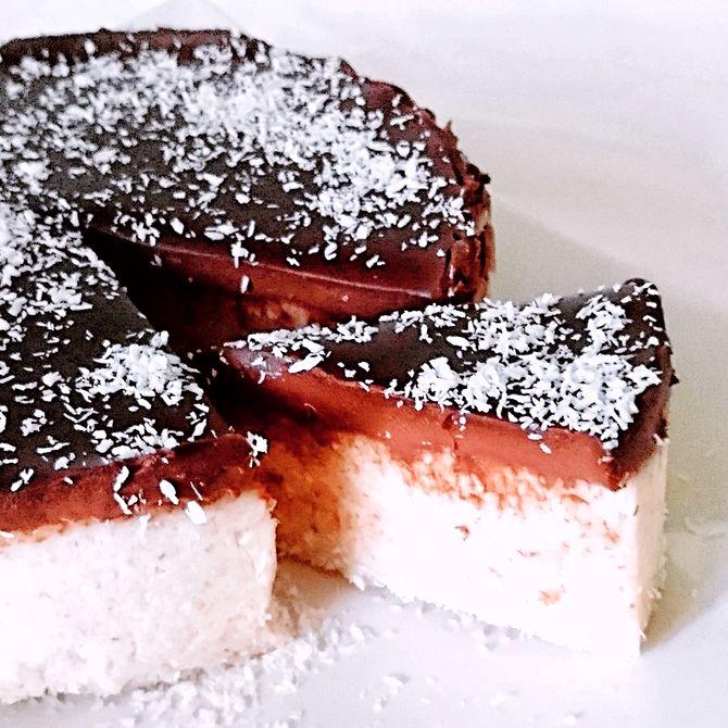 Náhľad receptu Tortička z krupicovej kaše s kokosom