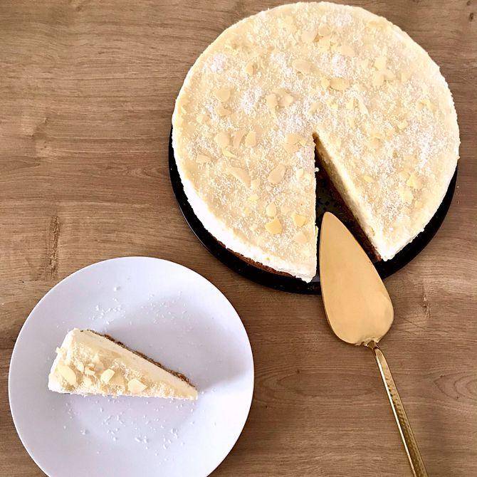 Náhľad receptu Kokosový cheesecake s bielou čokoládou