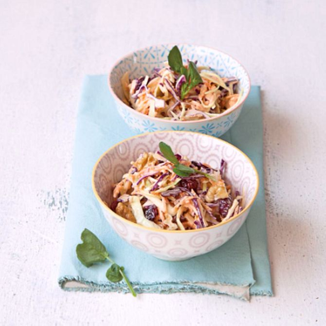 Náhľad receptu Coleslaw s brusnicami