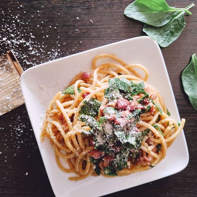 Náhľad receptu Špagety Carbonara