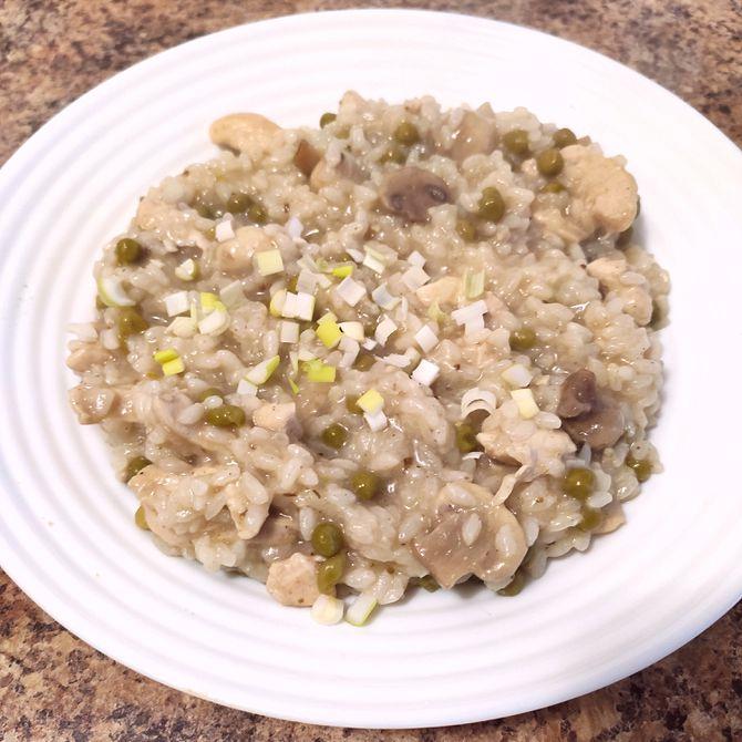 Náhľad receptu Kuracie rizoto so šampiňónmi a hráškom