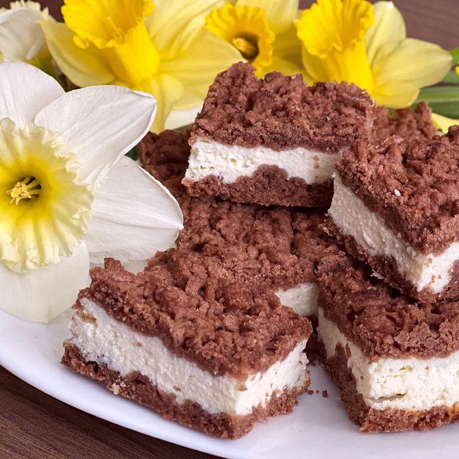 Náhľad receptu Fantastický strúhaný tvarohový koláč