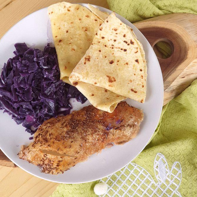 Náhľad receptu Pečená kačka s lokšami