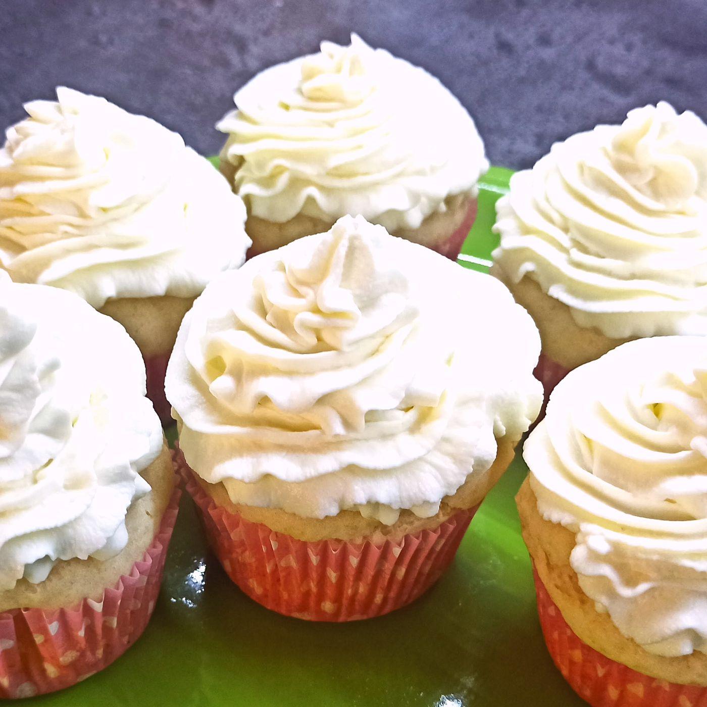 Citrónový cupcake