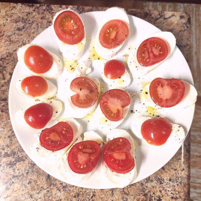 Náhľad receptu Mozzarella s rajčinami