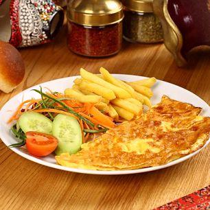 Náhľad témy Syrová omeleta