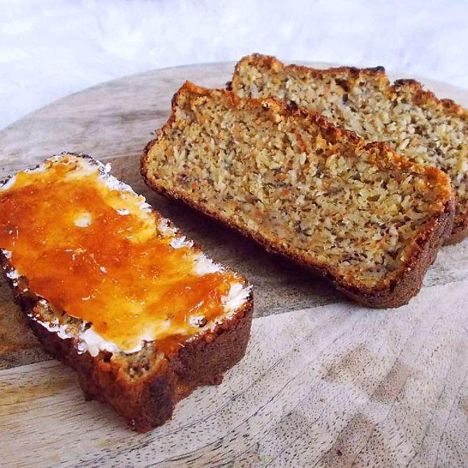 Náhľad receptu Mrkvovo-banánový chleba