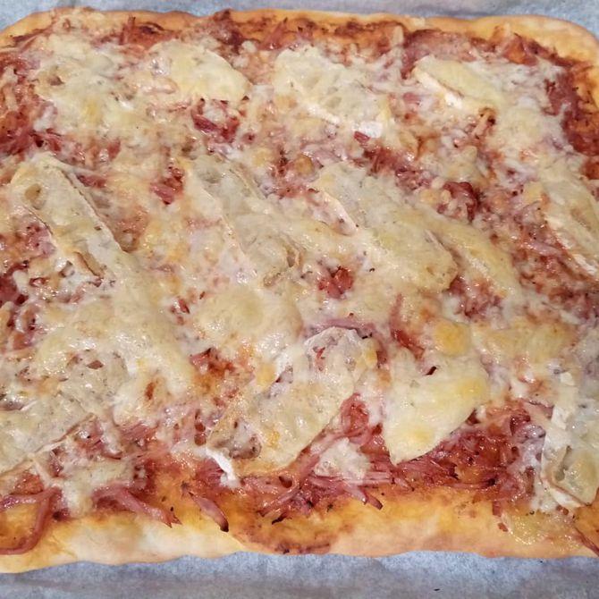 Náhľad receptu Domáca pizza s hermelínom