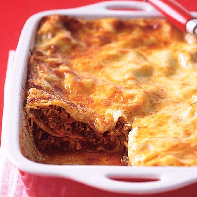 Náhľad receptu Lasagne s mletým mäsom