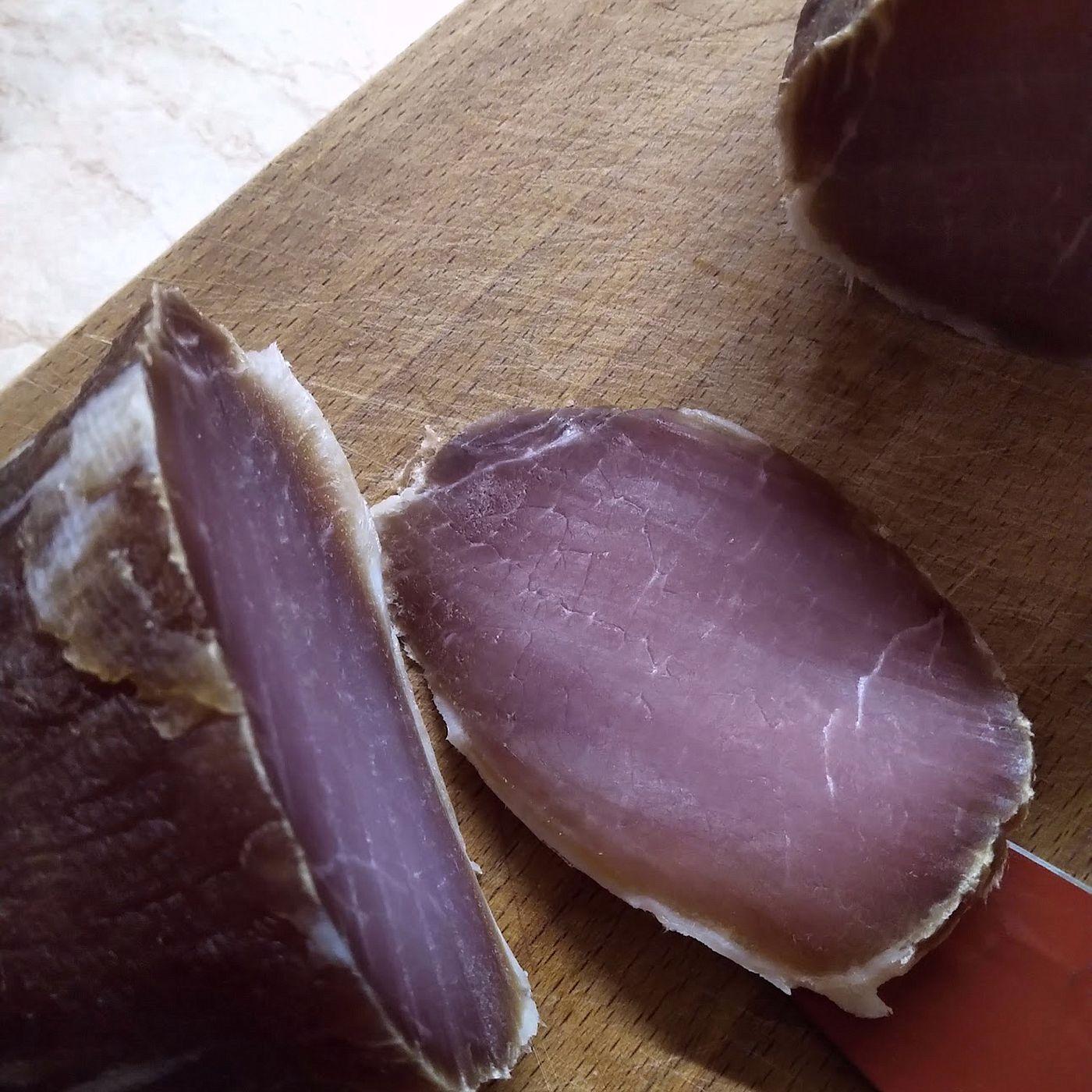 Domáca sušená šunka - krok prípravy 4