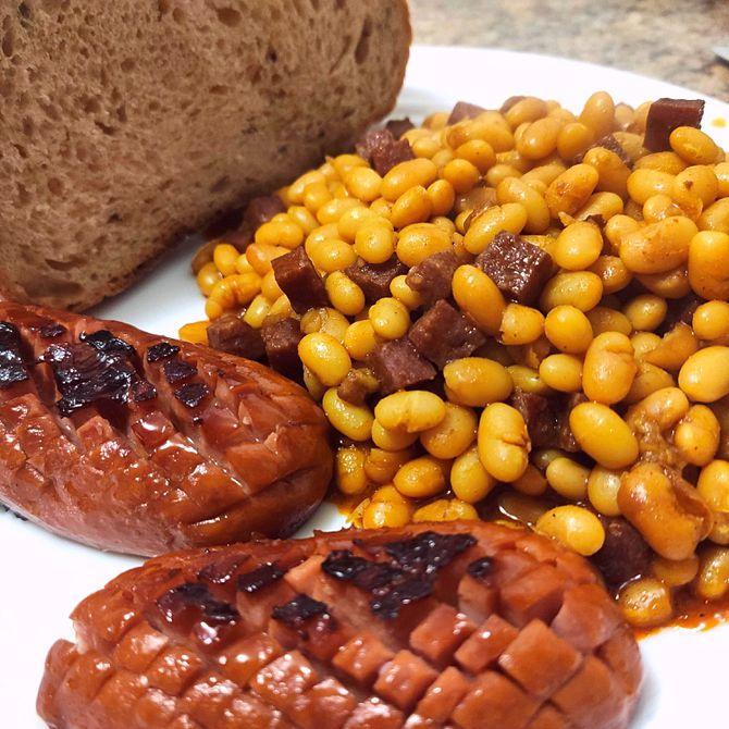 Náhľad receptu Kovbojská fazuľka