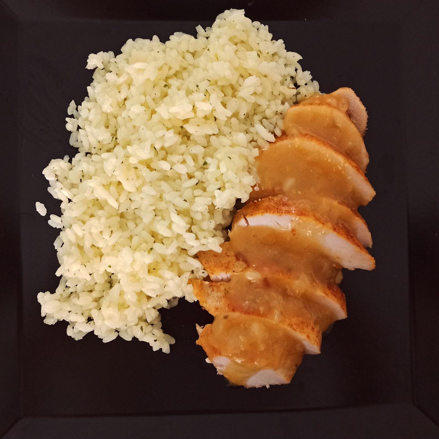 Kuracie prsia s pomarančovou omáčkou