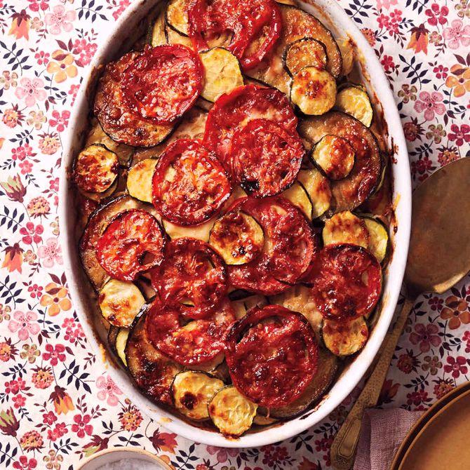 Náhľad receptu Zapekaná zelenina